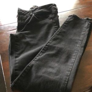 American Eagle outfitters black jegging jeans